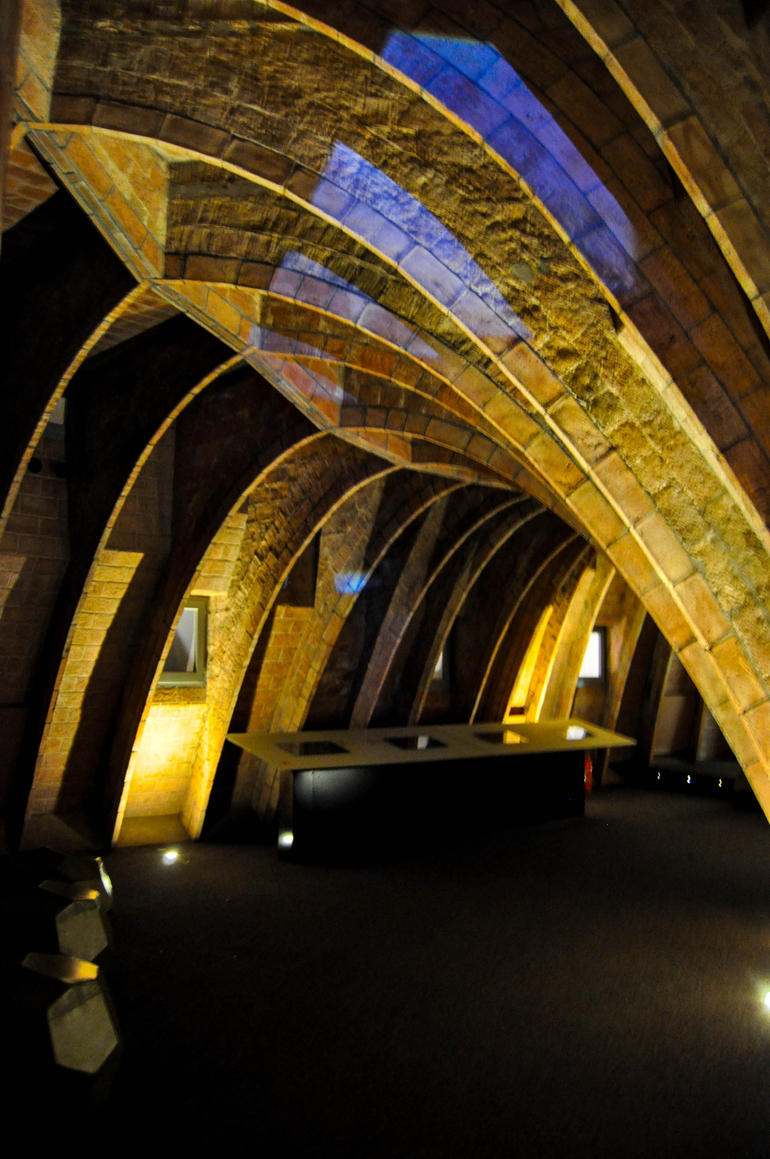 The Attic of La Pedrera, a.k.a. the ribs of a whale - Barcelona