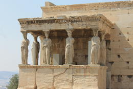 The Caryatid Porch of the Erechtheion. , Karyn M - August 2014