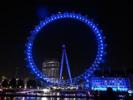 Photo of London The London Showboat Dinner Cruise on the Thames River The Eye again!