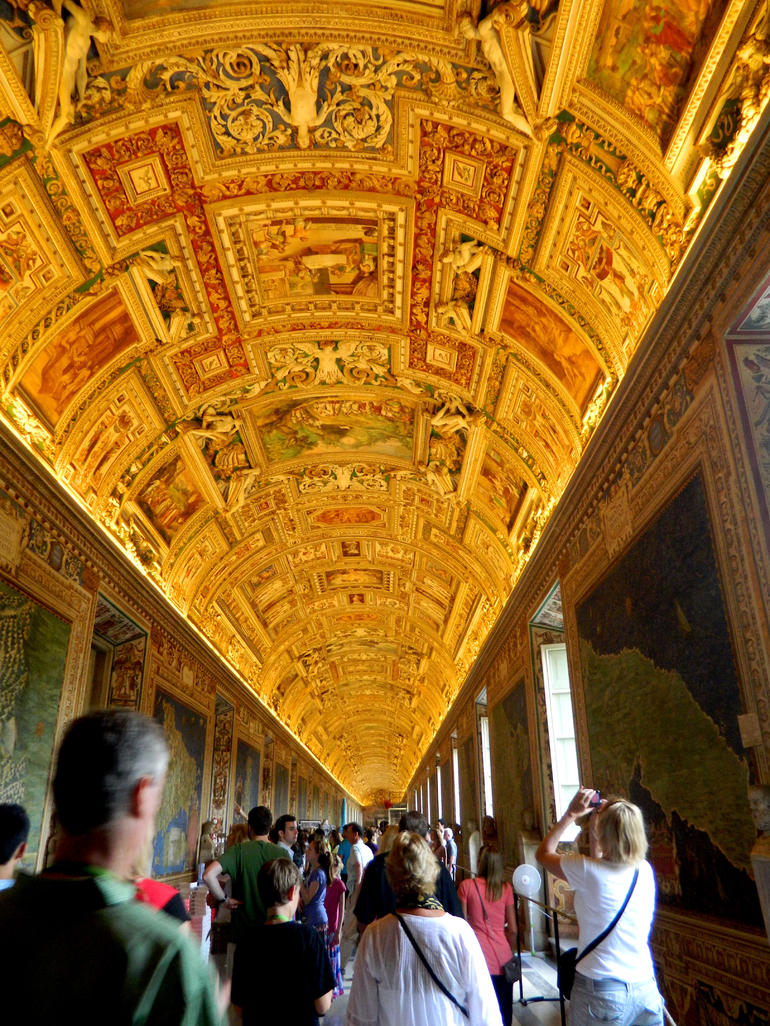 The hall of maps - Rome