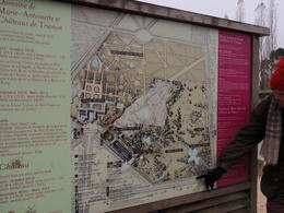 Our tour guide was Nick...he was fun! He shared lots of history and gave it in a way that was interesting and fun. Here he is showing us on the map of the grounds, how things were laid out. , Eileen K - November 2013