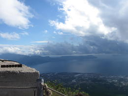 View from top Mt Vesuvius , Danielle F - October 2013