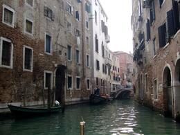 Photo of Venice Skip the Line: Venice in One Day Including Boat Tour View of the narrow waterways navigated by the Gondolas