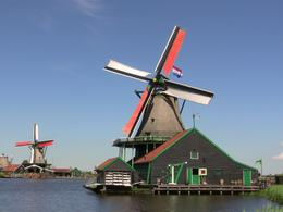 Windmills at Zaanse Schans , Kylie W - May 2014