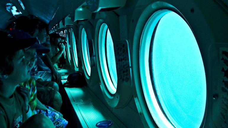 Atlantis submarine - Barbados