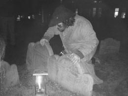The tragic tale of the Boston Lighthouse Keeper, his wife and daughter's suspicous deaths and subsequent hauntings ... a unique family of 3 gravestone ... , Kevan B - October 2014