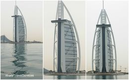 Photos of Burj Al Arab from the boat , Petru Rosenthorn - April 2015