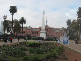 Famous Casa Rosada from a distance., Bandit - June 2012