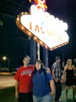 the sign that we stopped at, tour guide took our pic for us , TOM G - September 2012