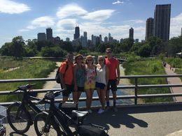 Beautiful view of Chicago Skyline from Lincoln Park , Kelley C - August 2015
