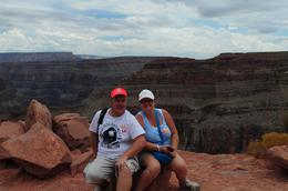 Photo of Las Vegas Grand Canyon West Rim Day Trip by Coach, Helicopter and Boat with Optional Skywalk Me and the missus