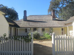 the house of Mr Busby where the treaty of Waitangi was signed , sallymay - June 2012