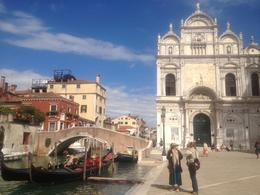 Photo of Venice Skip the Line: Venice Walking Tour with St Mark's Basilica One of the stops on the walking tour.