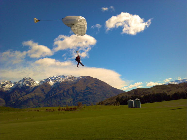 Skydiving in Queenstown!