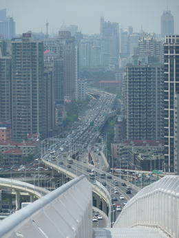 There's one bridge you can climb on. You have a beautiful view of the city. , 123gabyn - June 2012