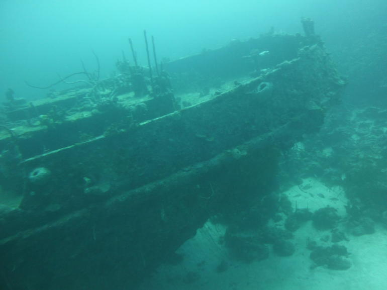 The shipwreck - Barbados