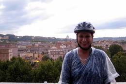 Photo of Rome Rome City Bike Tour View from Aventine Hill