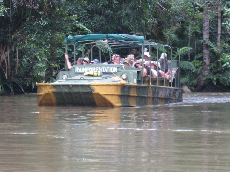 Army Duck experience - Cairns & the Tropical North