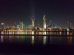 The view from the San Diego Harbor Dinner Cruise , Rebecca B - November 2014