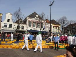 Photo of Amsterdam Alkmaar Cheese Market and Dutch Windmills Half-Day Trip from Amsterdam Cheese Market