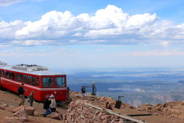 The train at the top of the pikes peak. , Andy - August 2015