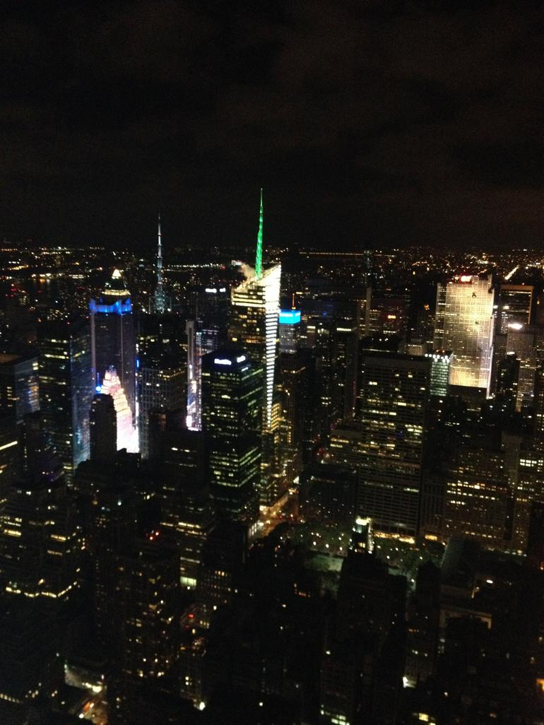 Empire state om aftenen.. - New York City