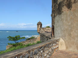 Fort San Felipe: Watchtower and walls of an early fortification built by Spaniards in 1570s, Puerto Plata - September 2011