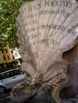 Photo of Rome Skip the Line: Crypts and Roman Catacombs Small Group Walking Tour Hoar's Fountain