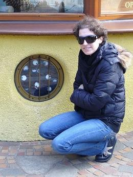 Kelly at the Ghibli Museum. - February 2009