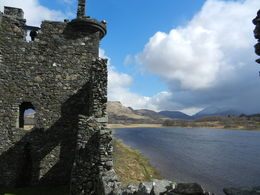There might not be much left of Kilchurn Castle, but it's hard not to imagine what it might have been like wandering through the ruins, surrounded by beautiful views. , Rebecca H - April 2015
