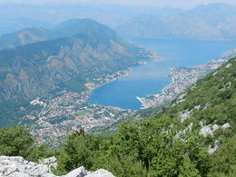 Panoramic view of Kotor Bay...it was gorgeous! , David G - July 2015