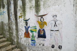 Photo of Lisbon Lisbon Guided Walking Tour Local street art in Alfama