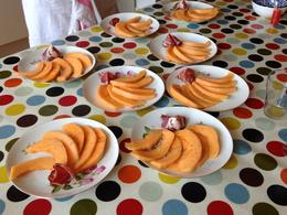Photo of Paris Small-Group French Cooking Class in Paris Melons  and  Coppa