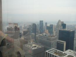 Photo of New York City Top of the Rock Observation Deck, New York Misty NY morning