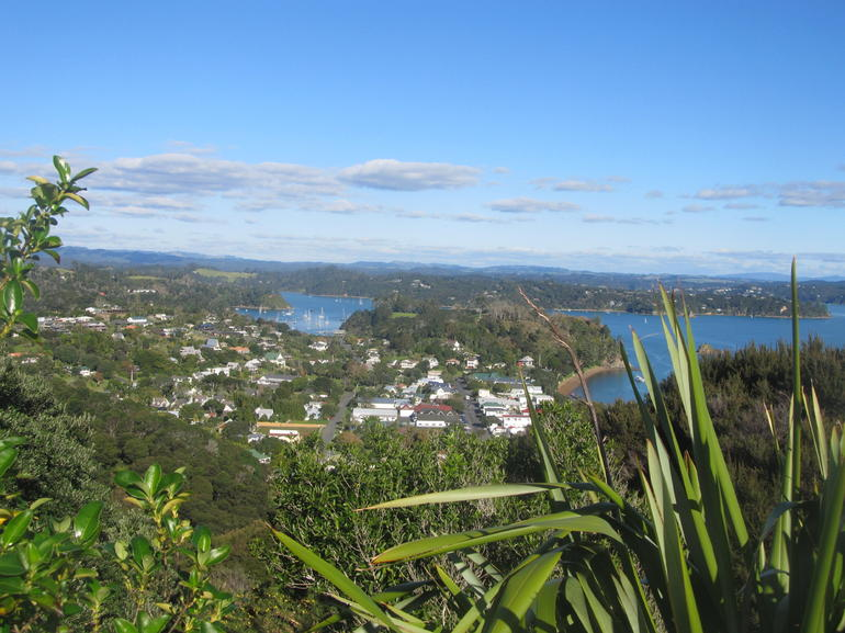 the view of russell from the lookout