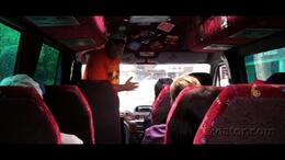 Cruise around London in this comfy van on the London Rock Tour. - July 2011