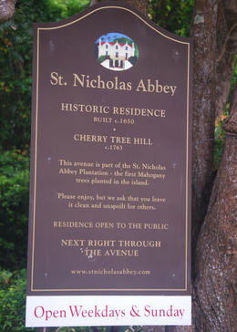 St Nicholas Sign, Louise H - July 2011