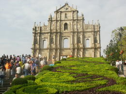 The iconic image of Macau, the facade of the former church of St Paul's , Peter S - November 2013