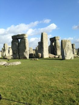 View of Stonehenge , Mommy2hh - March 2015