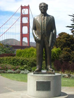 Photo of San Francisco San Francisco Deluxe City Tour, Muir Woods and Sausalito Day Trip The Man Who Built The Bridge