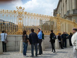I believe his name is Joerl. the guy on blue is the tour guide who abandoned us at the Versailles tour. 45mins away from our hotel. Worst trip ever. do not tkae this company. , ZOILA - May 2011