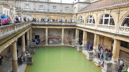 Photo of London Stonehenge, Windsor Castle and Bath Day Trip from London A view of the Roman Bath