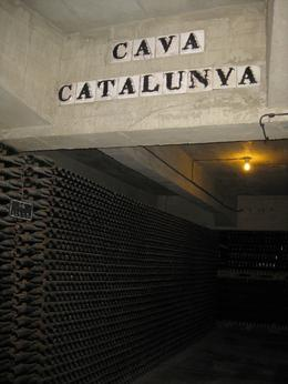 Photo of Barcelona Montserrat and Cava Trail Small Group Day Trip from Barcelona Cava Caves