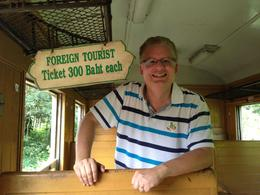 For an extra 200 Baht beyond the cost of this tour - you can ride in an empty train car with snack and drink service and a guaranteed seat , Mike M - October 2014