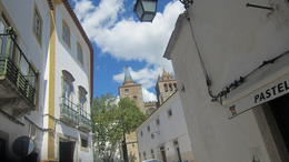 Walking through Evora town , Anne S - May 2013