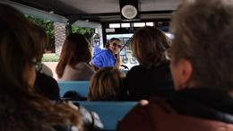 Photo of Los Angeles Warner Bros. VIP Studio Tour and Movie Stars' Homes Tour On the tram tour