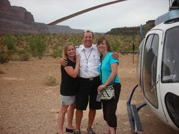 Foto von Las Vegas Grand Canyon – All American-Hubschrauberflug Our pilot was fantastic!