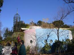 Outside the Ghibli Museum. - February 2009