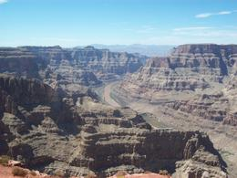 Looking down at the Colorado River - August 2011