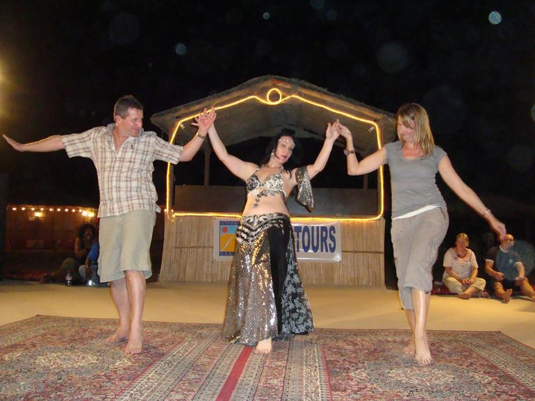 The dance at Dubai Desert Safari - Dubai
